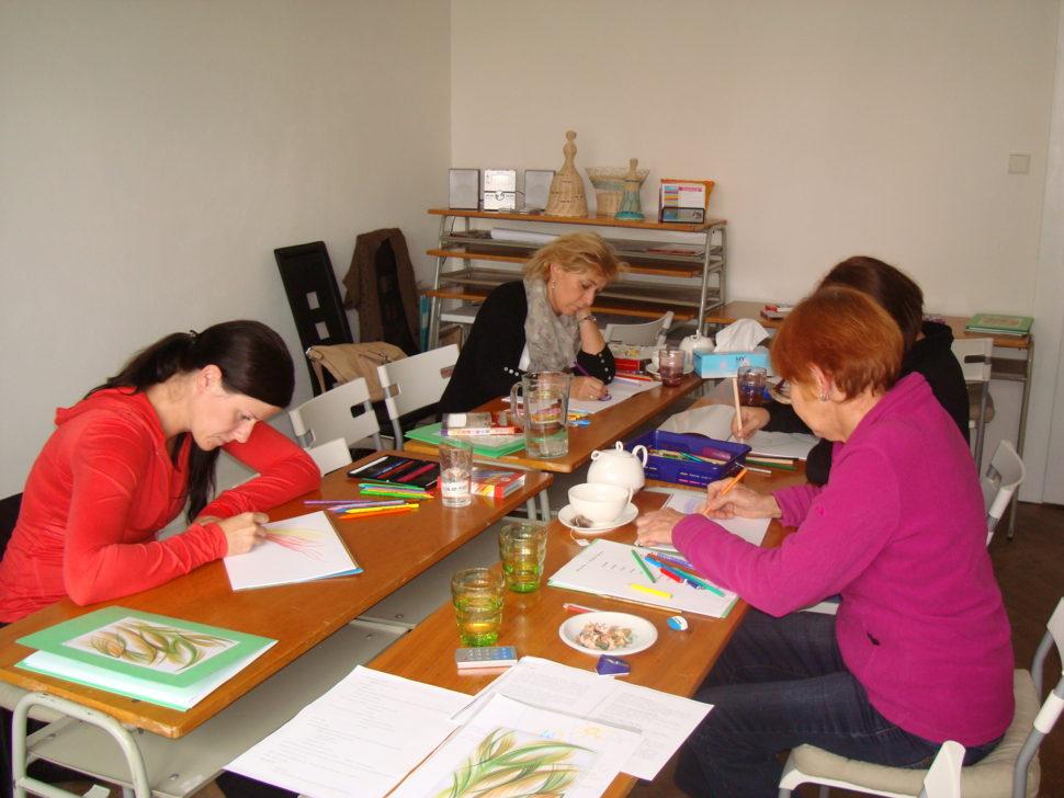 automatická kresba, osobní rozvoj, kreslení, kurzy vPlzni, sebevědomí, sebejistota