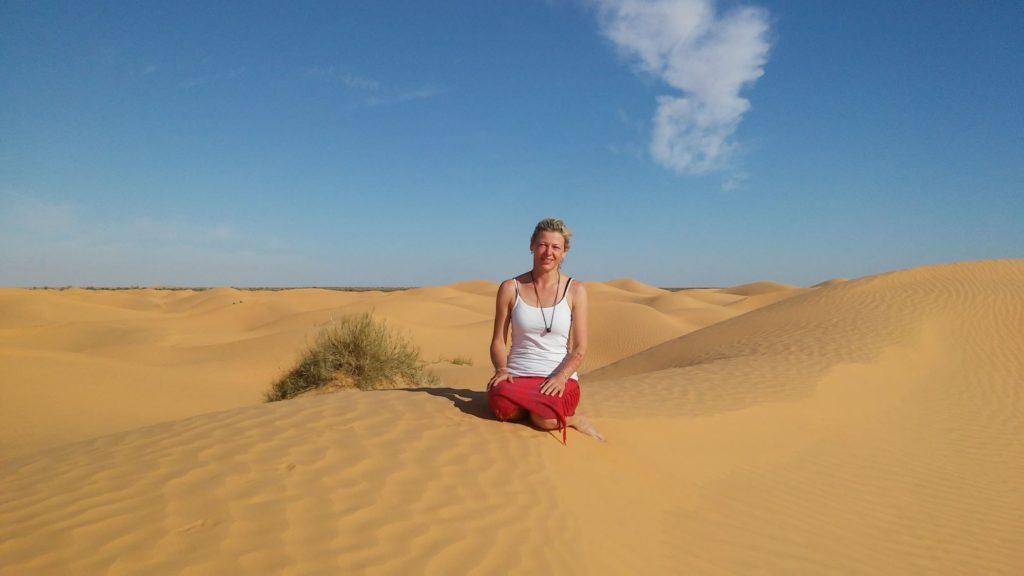 Zdeňka Šulcová pouť Sahara