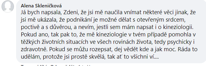 Reference - Zdeňka Šulcová
